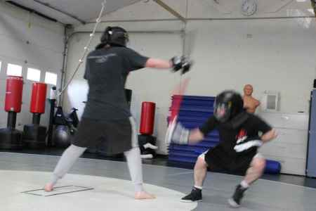 Rob Stick Sparring with Noel 00